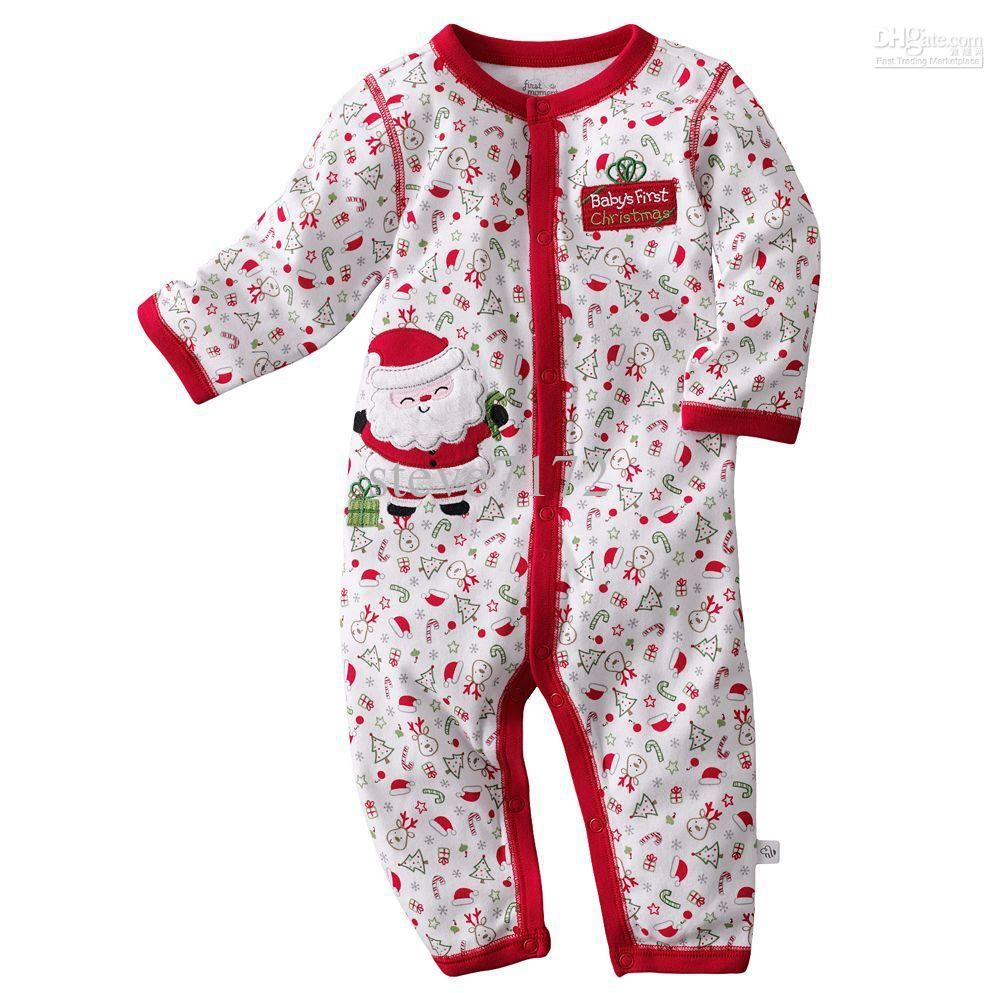 6f4792f586 First Moments Baby Rompers Bodysuits Onesies Christmas Pajamas Snowman  Jumpsuits Shirts Outfit ZW614 Online with  192.4 Piece on Steve7172 s Store