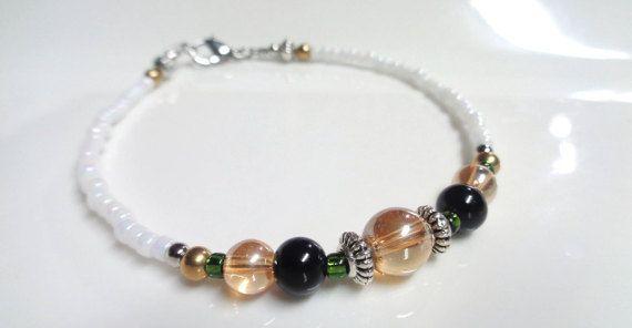 Bracelet en Perles  Bracelet Home  Bracelet par LaCiteDesBijouxLN