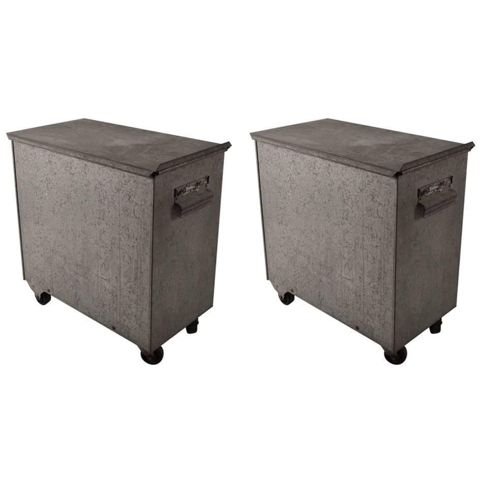 vintage industrial storage bin - Industrial Storage Bins