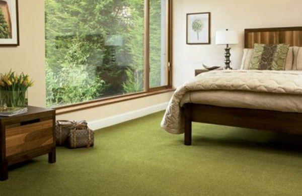 Green Carpet Design Bedroom Colors Colourful Decor
