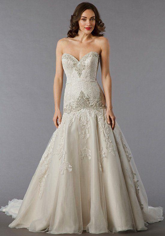 Danielle Caprese for Kleinfeld 113055 Wedding Dress - The Knot ...