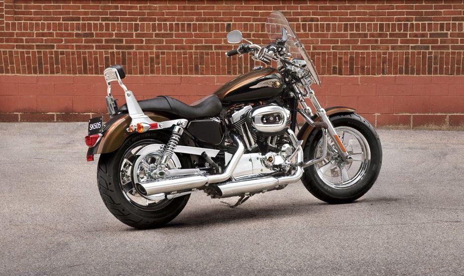 2013 Harley-Davidson® Sportster® 1200 Custom Motorcycles Photos ...