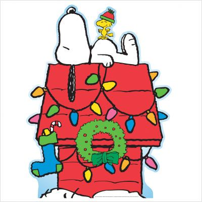Snoopy christmas clip art