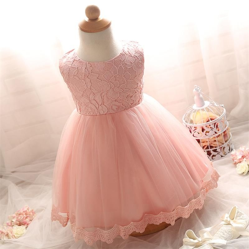 388bcd05b9ad3 Lace Girl Wedding Dresses For Newborn Baby Girl Party Dress Girl 1 ...