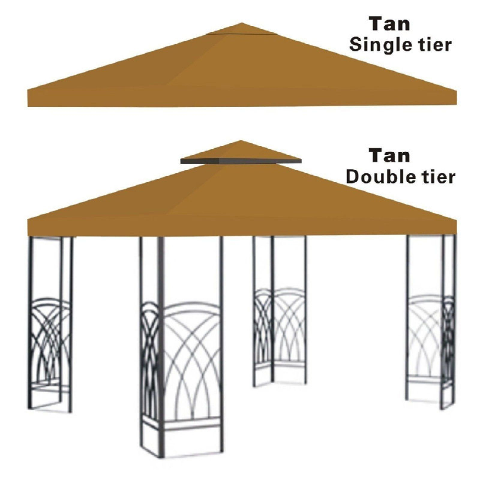 Sunrise 10 X 10 Ft Gazebo Replacement Canopy Cover Gazebo Replacement Canopy Gazebo Canopy Canopy Outdoor