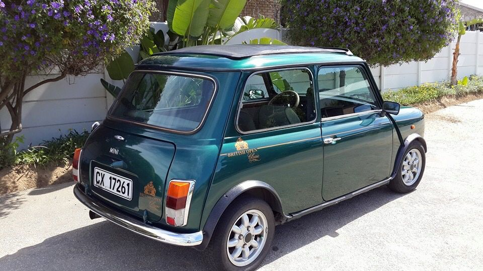 #Mini British open classic - import from Belguim to South Africa - left hand drive :(