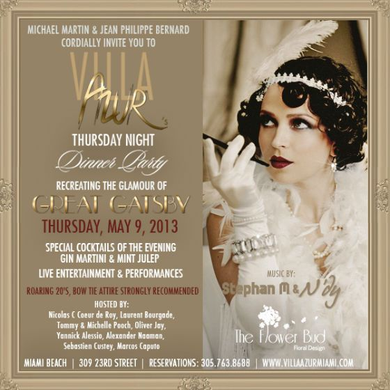 The Gatsby 1920 S Puma Release Party At Villa: While Anyone Is Welcome