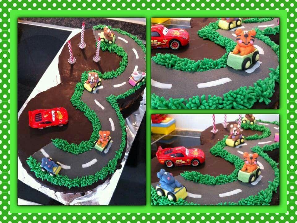 Auto Strassen Kuchen Quelle Facebook 3 Kindergeburtstag