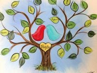 Featured Painting Parties Family Tree Canvas Family Tree