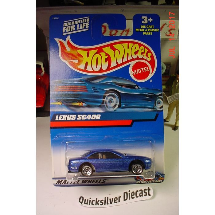 Hot Wheels Lexus SC400 Blue 2000 210 BP Listing in the Hot Wheels ...