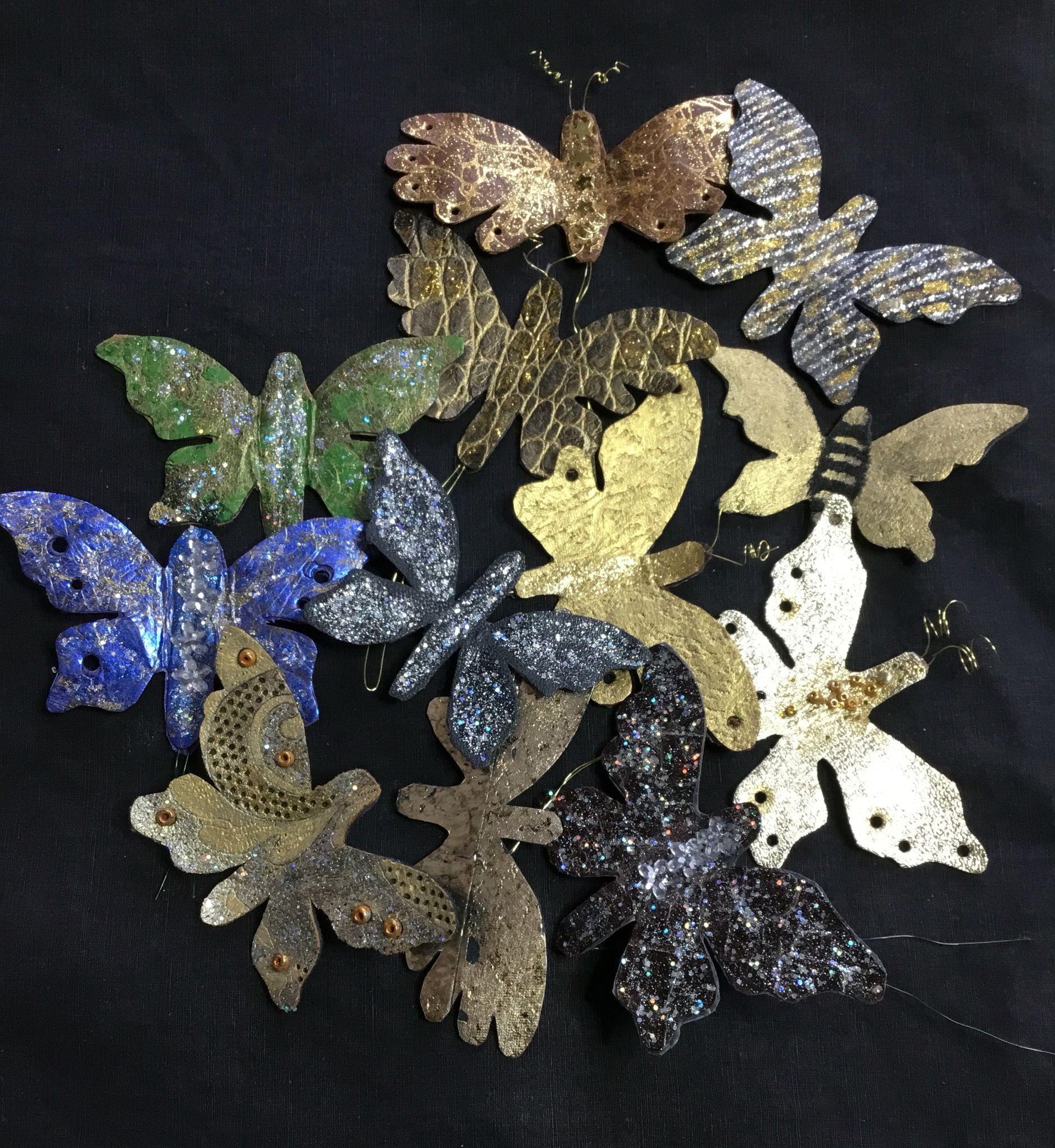 Nahka perhoset