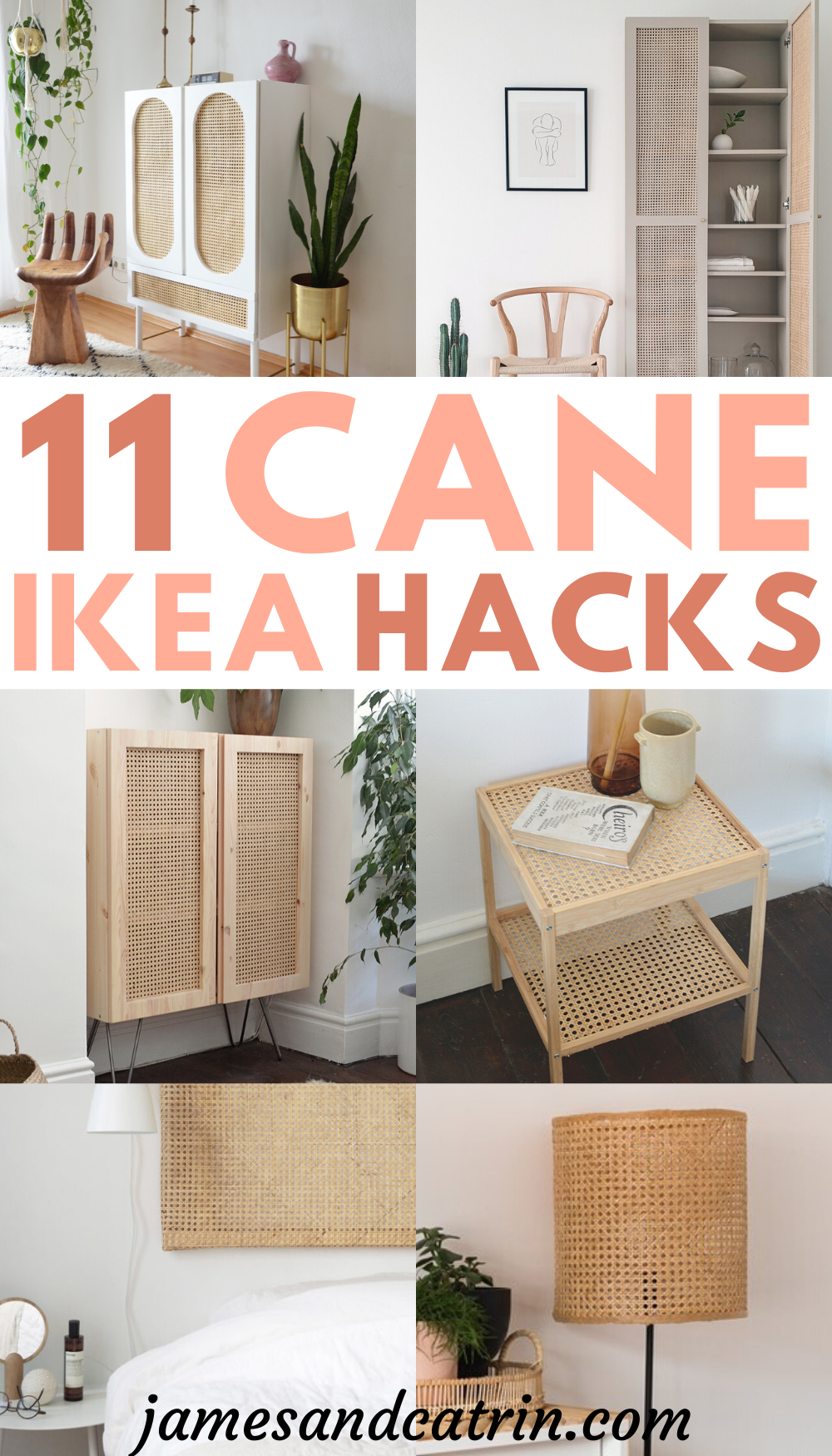 Stunning Cane Ikea Hacks that Show Cane is King | Diy