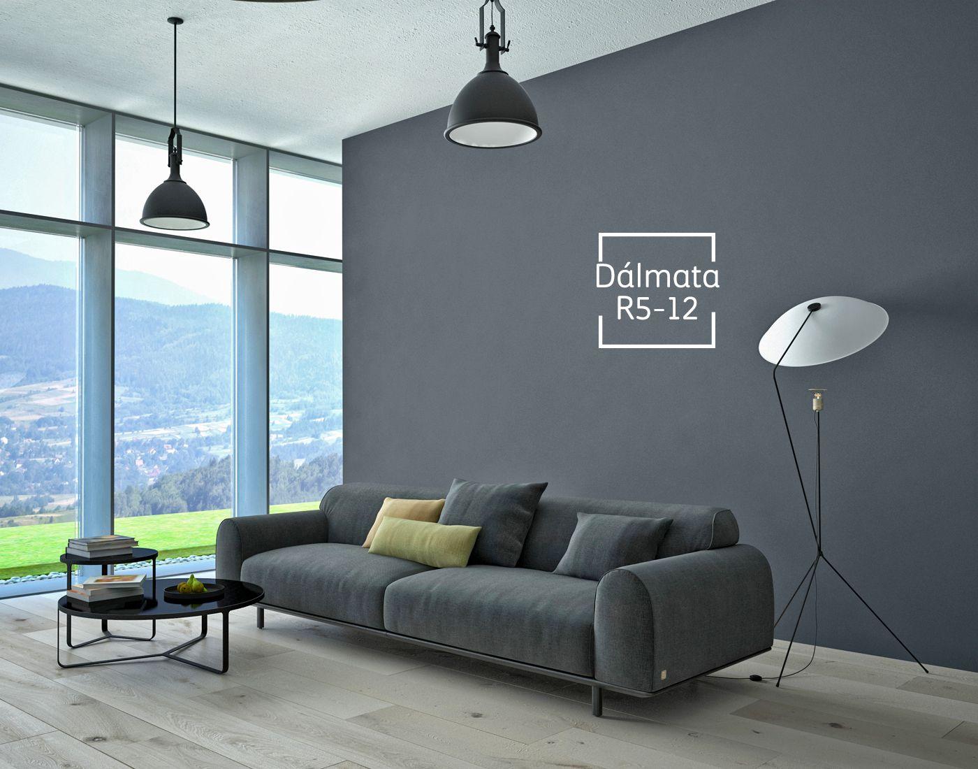 Este tono te dar un toque de elegancia y contraste en for Pintura gris para interiores