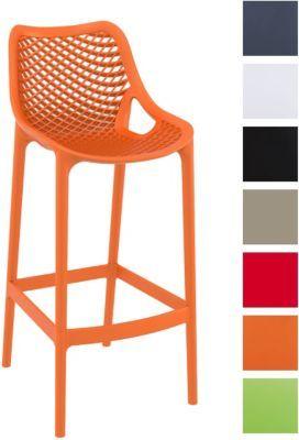 Sitzhöhe Barhocker outdoor barhocker air stapelbar sitzhöhe 75 cm edle optik bis zu