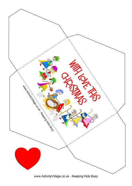Cool Money Envelope You Can Print For Your Gift   Christmas