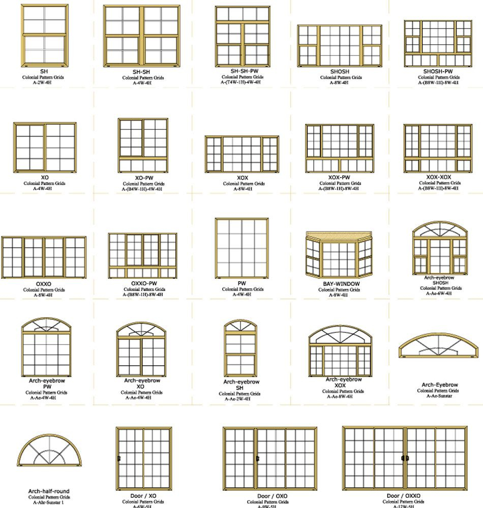 Colonial Home Windows Grid