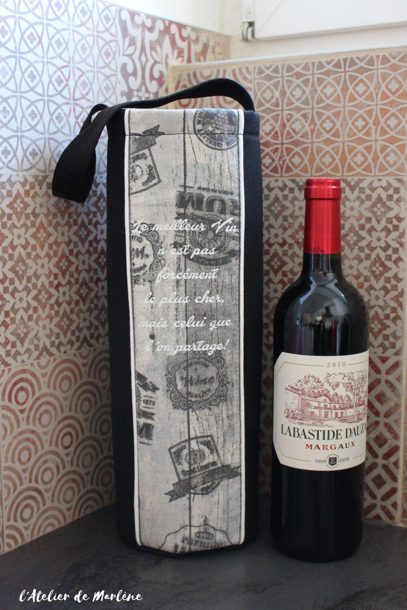 Sac Transport De Bouteille Vin Personnalis Mes Creas Sac A