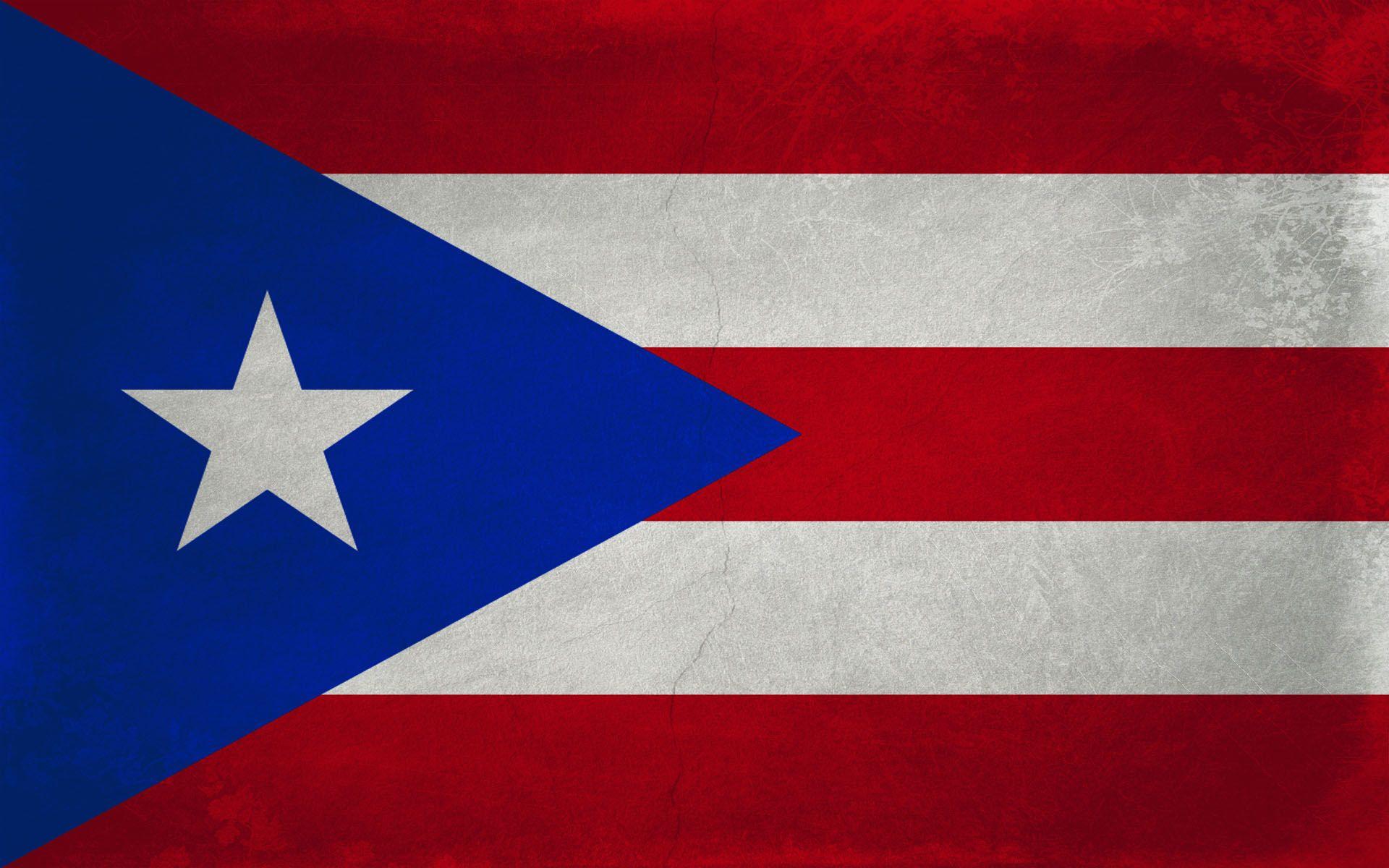 Nuestra Bandera Puerto Rico Flag Wallpaper