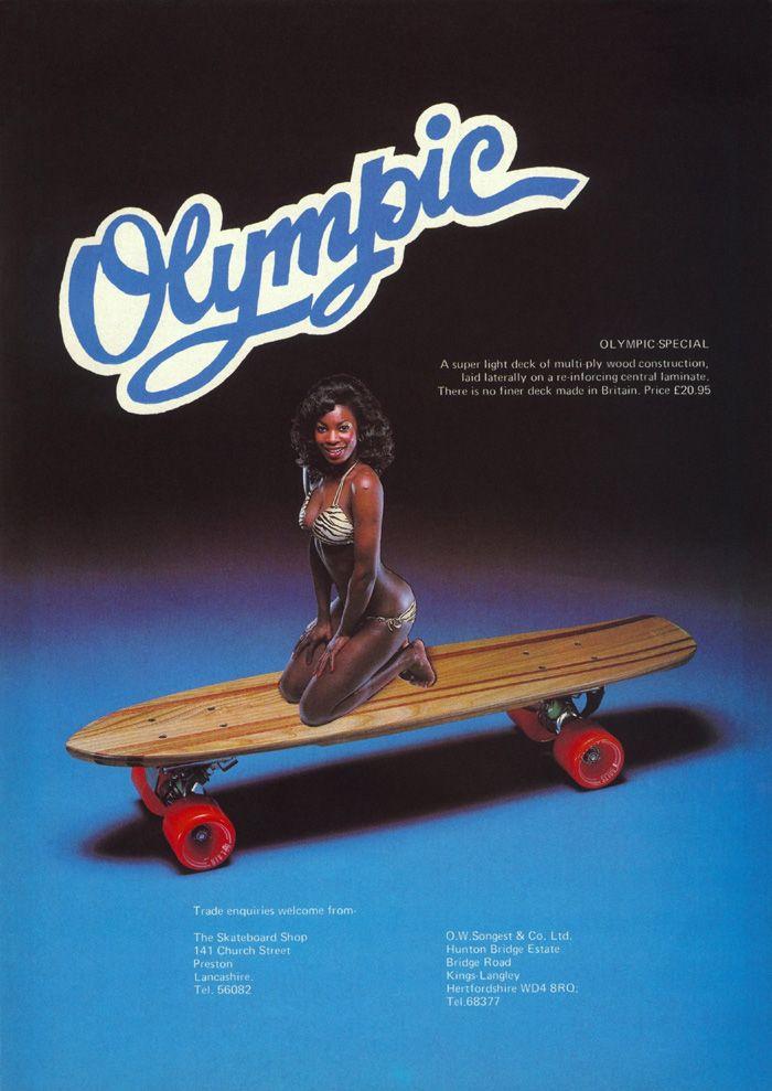Bold Decorative Font With Outline Skateboard Companies Skateboard Olympics