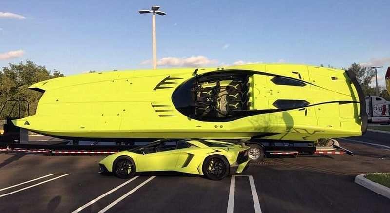 Lamborghini Mti 52 Super Veloce Catamaran Wordlesstech Lamborghini Aventador Speed Boats Lamborghini