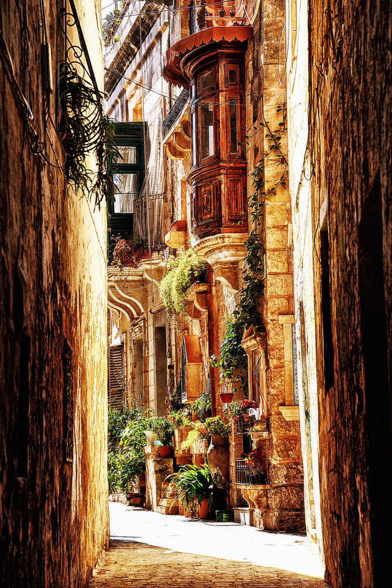 Mdina's labyrinthine alleyways make it ideal for exploring on foot or by horse-drawn cart. Malta and Gozo