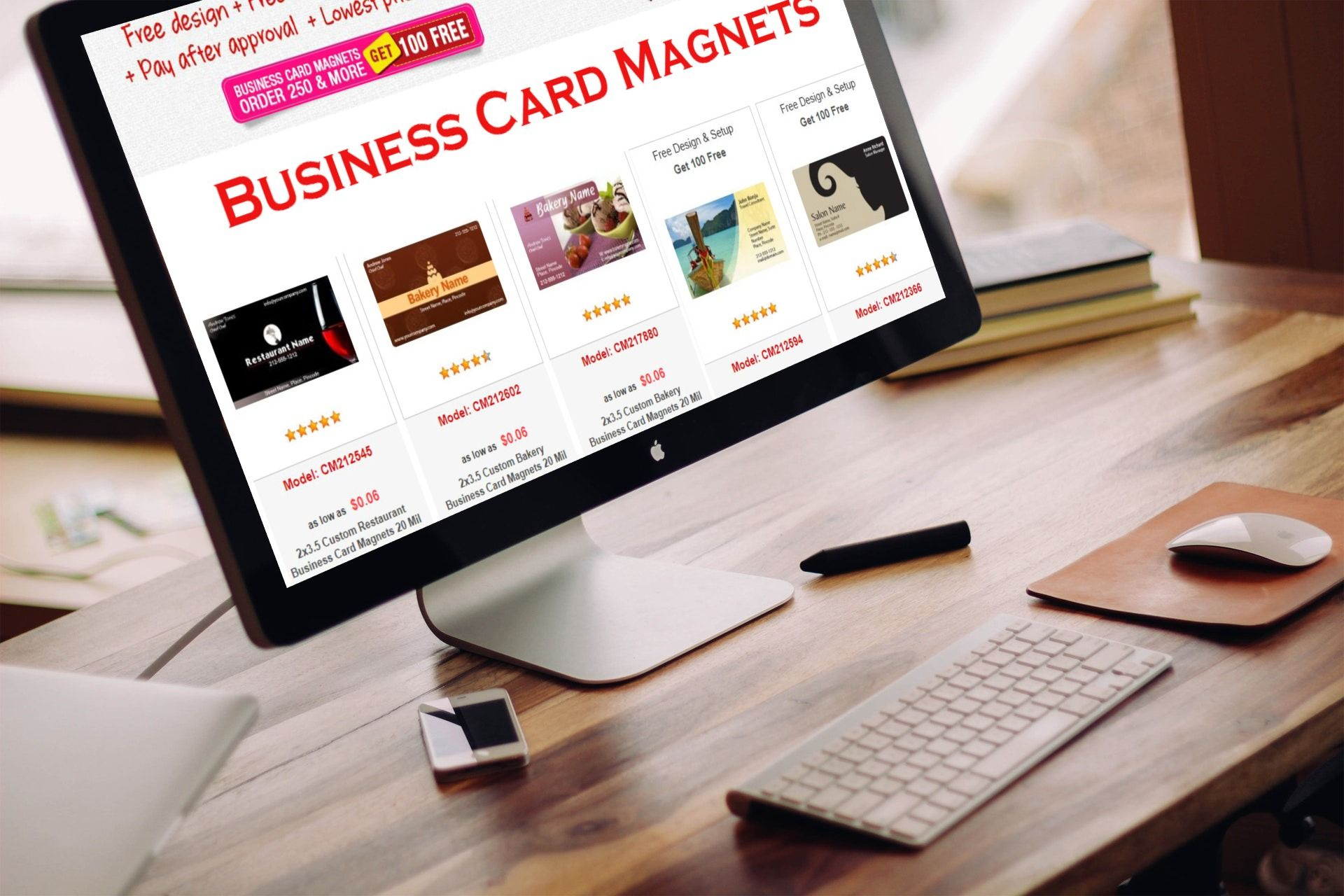 Get 100 free when you buy 250 custom business card magnets hurry custommagnetsdirect get 100 free when you buy 250 custom business card magnets colourmoves