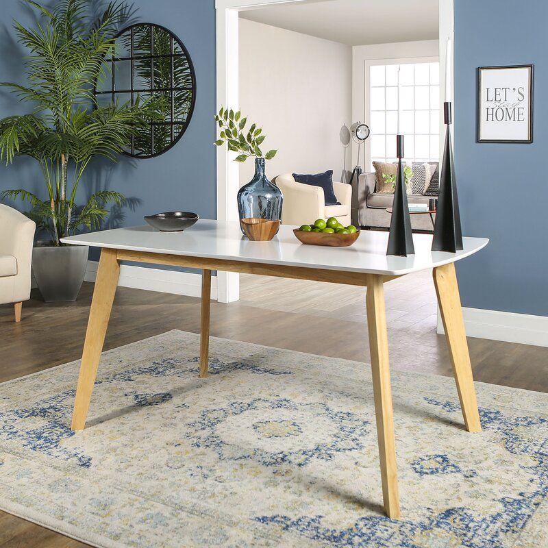 Mcnamara Dining Table Reviews Allmodern In 2020 Wood Dining Table Modern Modern Dining Table Modern Wood Kitchen