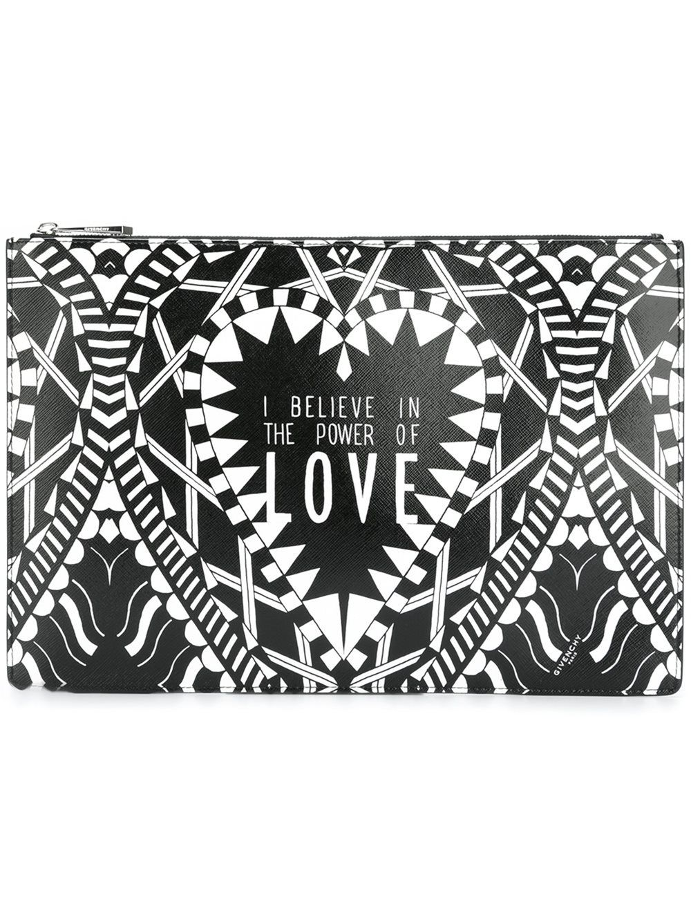 GIVENCHY power of love printed clutch  7bce2a6810d9d
