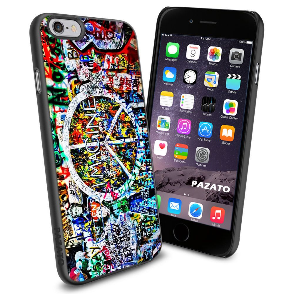 iPhone 6 Print Case Cover for Apple The Beatles Peace Sign