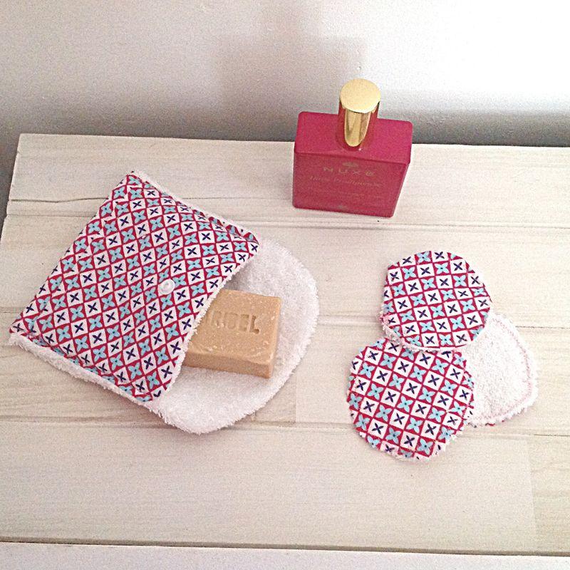 Pochette à savon nomade - Cam & Drey bricolent... #couturezerodechet