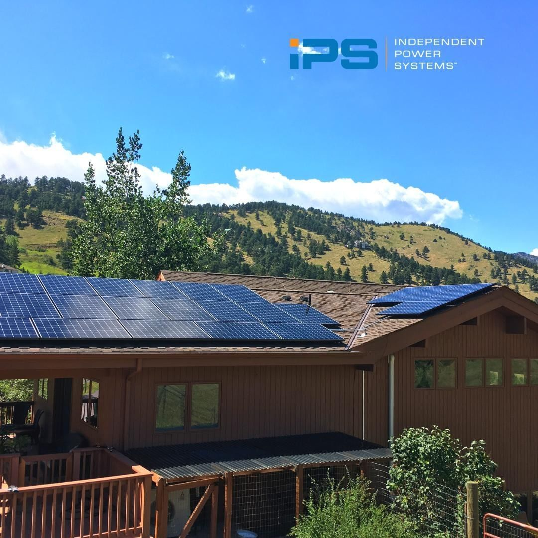 It S Projects Like This 9 36 Kw Solar System Near Golden That Really Get Us Feeling That Colorado Vibe Wouldn T You Agree Ren Solar Pv Solar Homeowner
