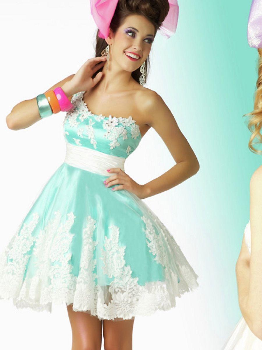 17  images about Dresses on Pinterest  Blue shorts Short prom ...