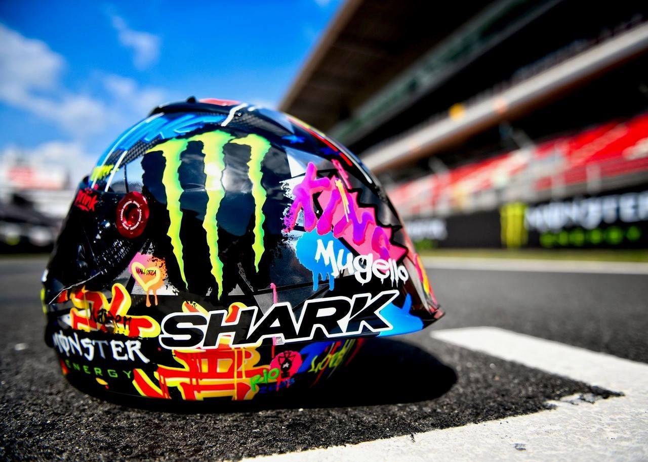 2018 Shark Grafiti Race-R Pro Jorge Lorenzo Special Edition Catalunya p7  MotoGP (© ) 9f4bf56b4a8