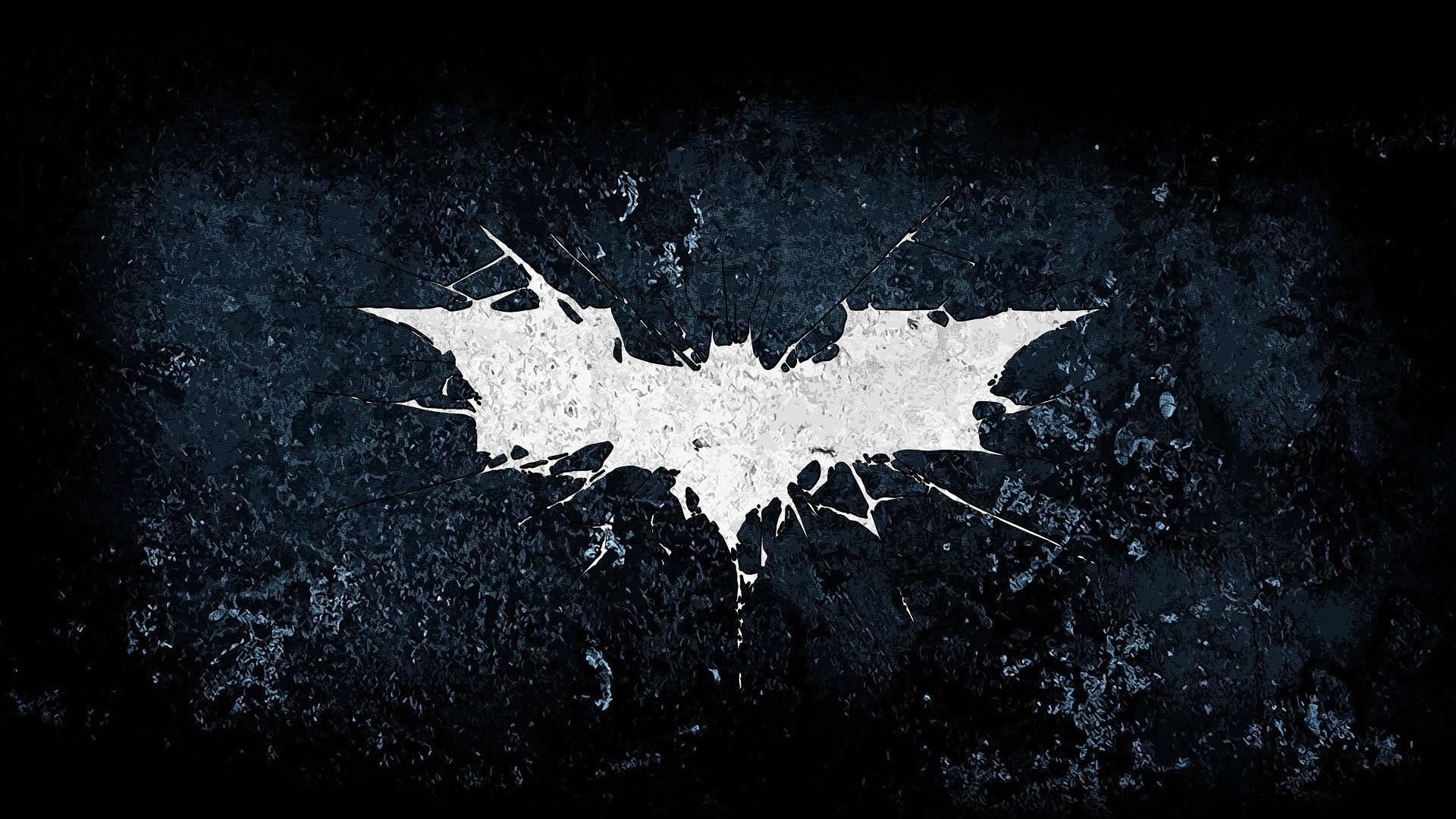 White Batman Logo Hd Wallpaper 1920x1080 Dark Knight Wallpaper