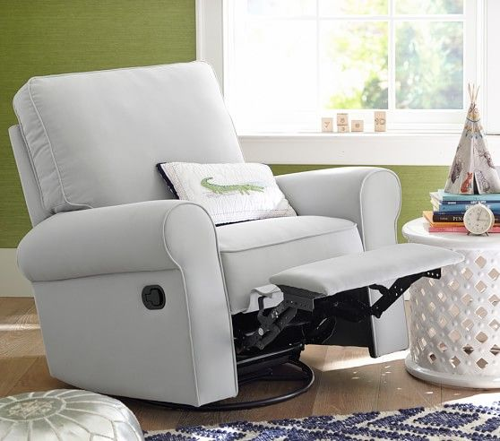Comfort Recliner Swivel Rocker Pottery Barn Kids