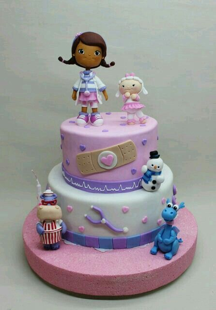 Pin by Monique Monroe on Cake Doc mcstuffins Pinterest