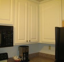 How to Make Stained Kitchen Cabinets Look Shiny Again ...
