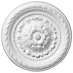 Rosace En Polystyrène Diamètre 30 Cm Sachet Dune Pièce