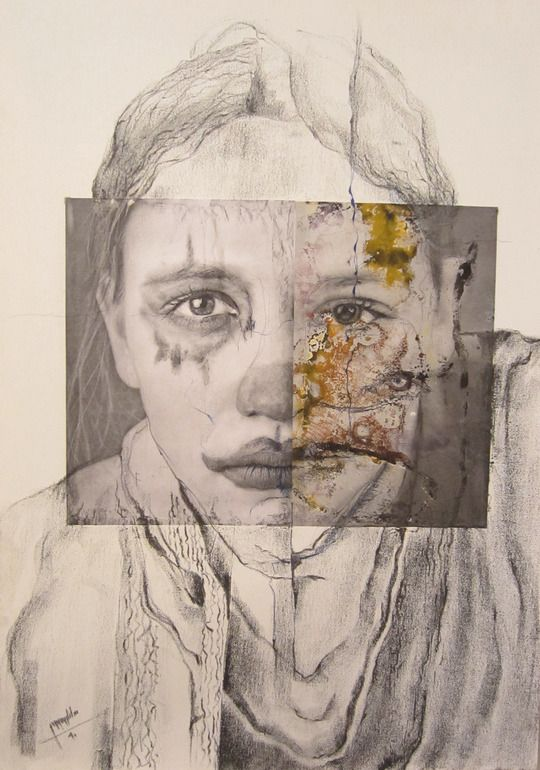 saatchi online artist  sanaz vosough ghanbari  painting  assemblage    collage no title