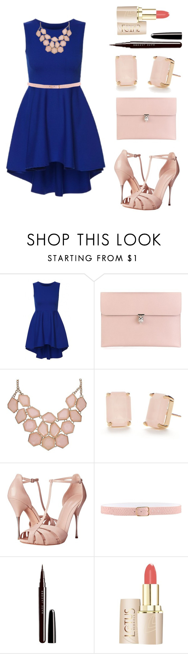 """""""Feminin Gal"""" by narniandreamer ❤ liked on Polyvore featuring Alexander McQueen, Kate Spade, Orciani and Marc Jacobs"""