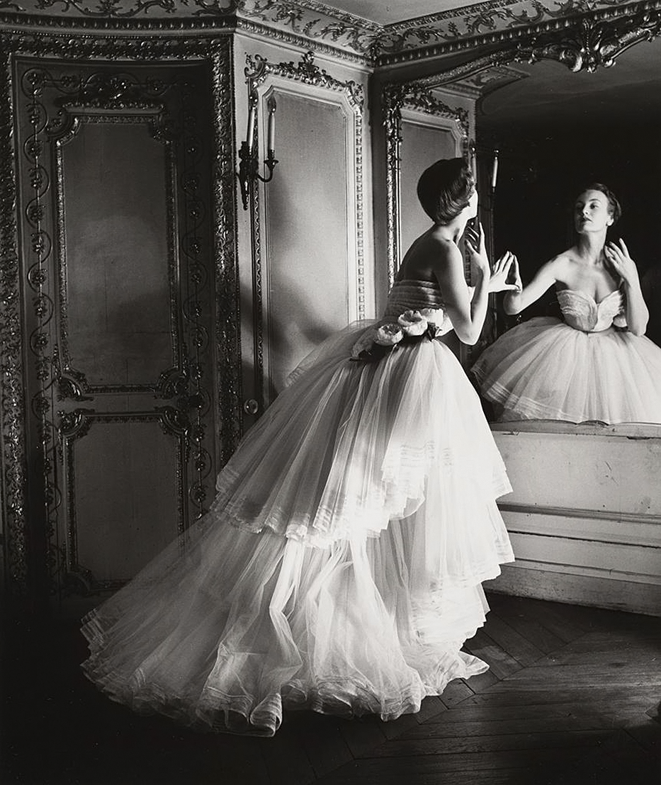 Vintage black wedding dresses  Dior ball gown   人  Pinterest  Gelatin silver print Dahl
