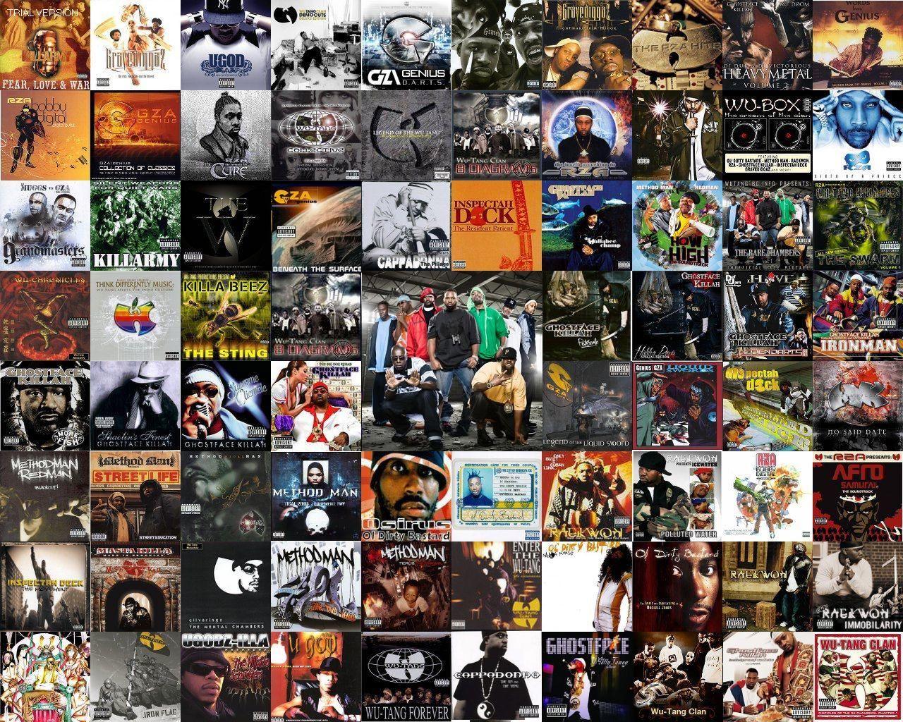 Wu-Tang Clan album collage | Wu World Order: Pin Chamber in