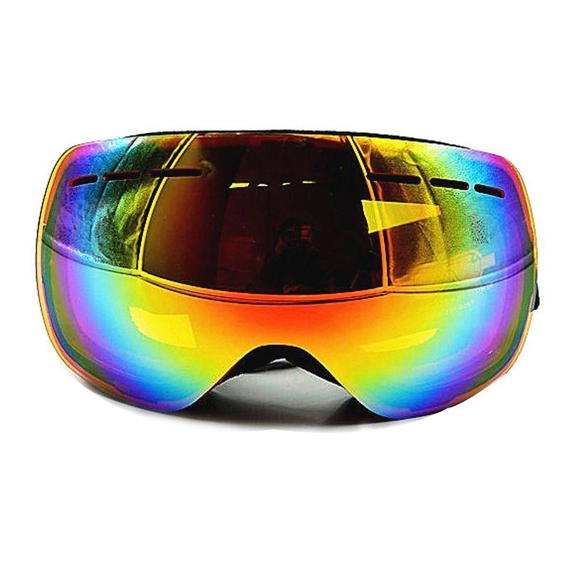 Soared Ski Snowboard Goggles Winter Snow Glasses Double-Layer Spherical Lenses UV400 Anti-Fog OTG Eyewear for Men Women