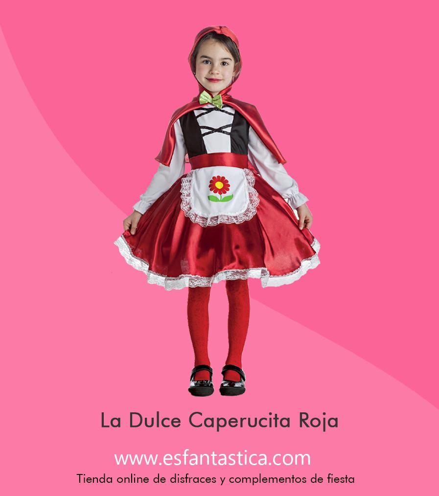 Disfraz de Niña Caperucita Roja. Disfraces infantiles. Disfraces ...