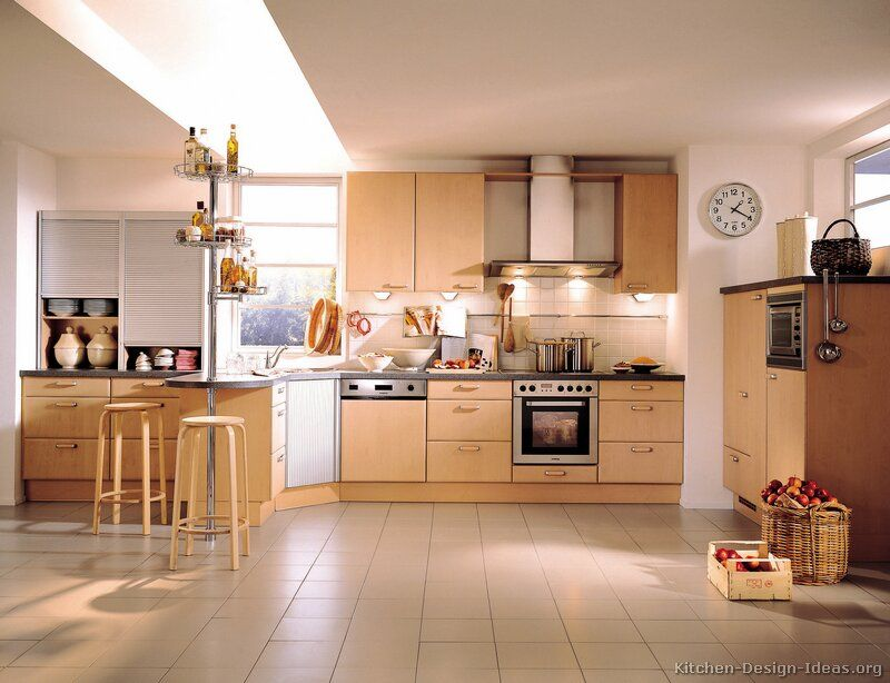 Nice European Kitchen Cabinets #06 (Alno.com, Kitchen Design Ideas.