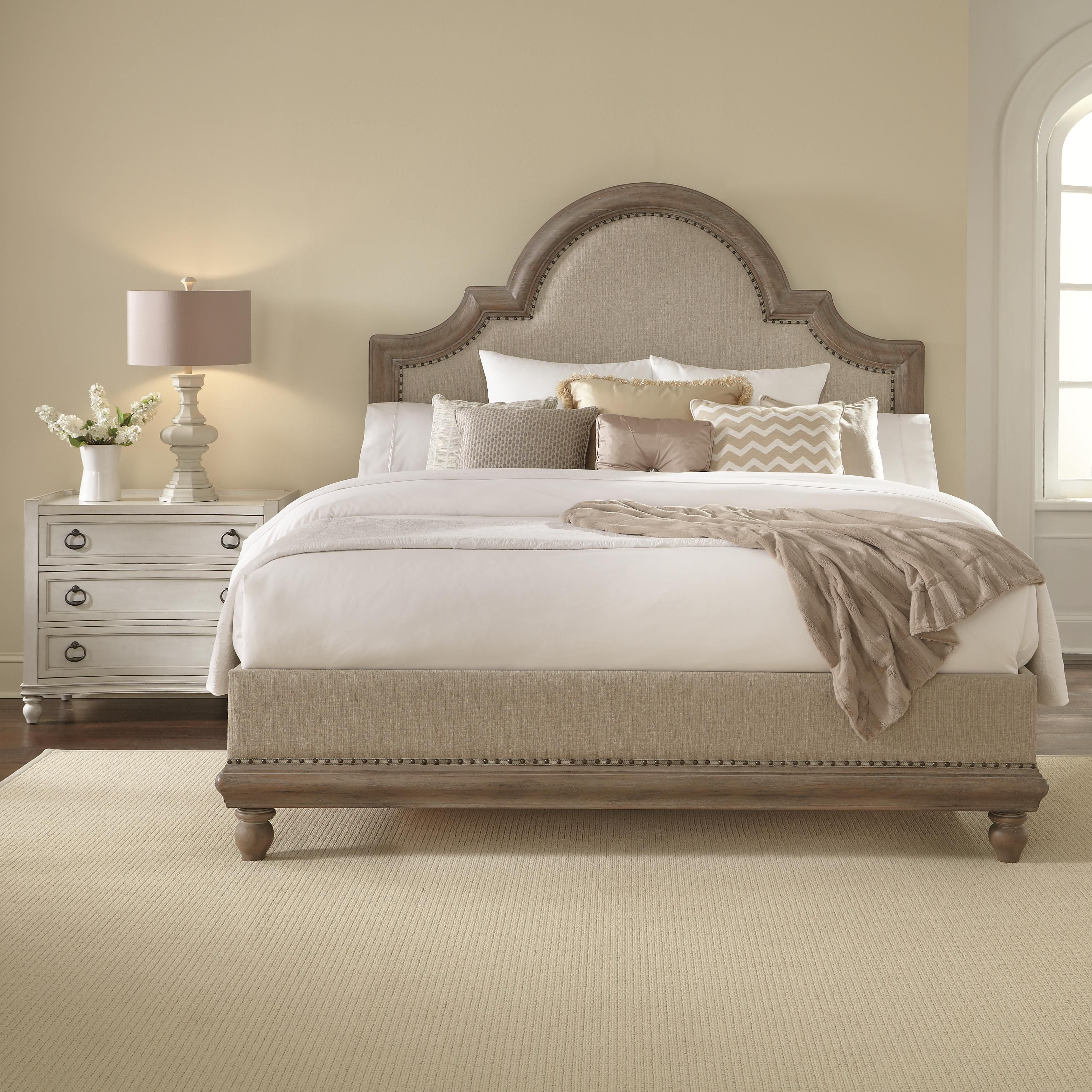 Keep It Neutral With The Dusk Finish On The Caravan Bed By