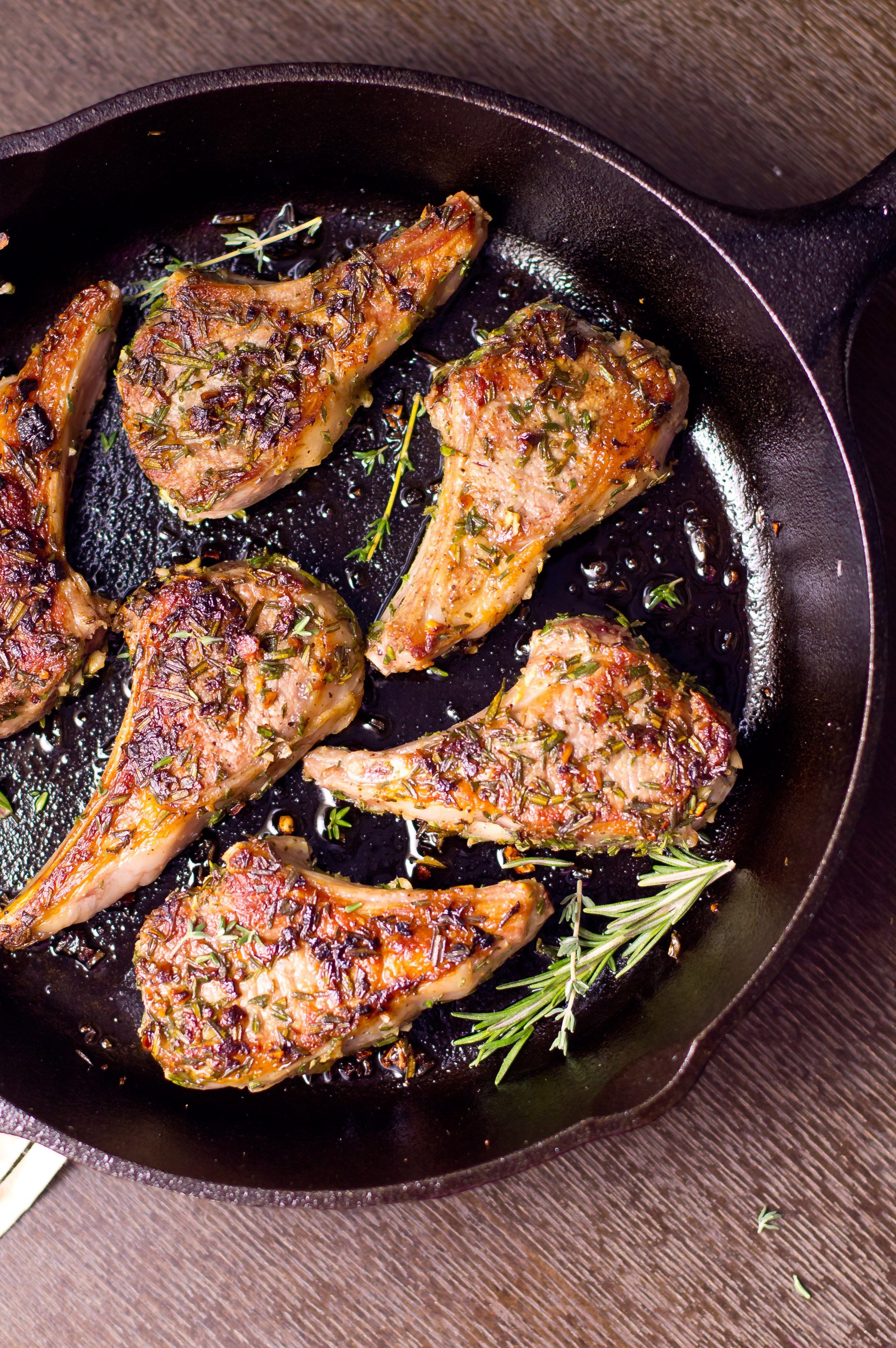 Herb Crusted Lamb Chops Recipe With Images Lamb Chop Recipes