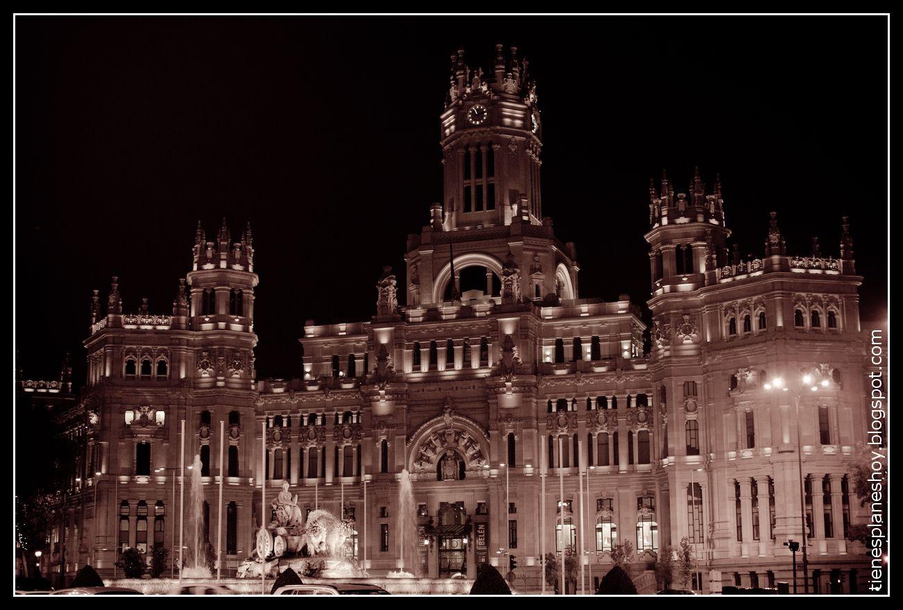 Palacio De Cibeles Cibeles Madrid Palacios Cibeles