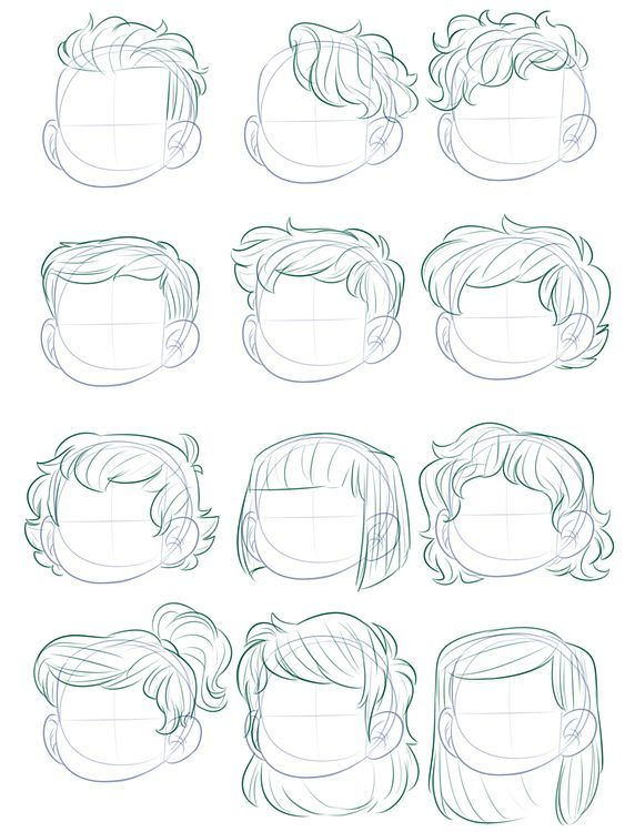 Hair Templates Telecharger 4shared Mh Presents Drawing People Art Reference Hair Sketch