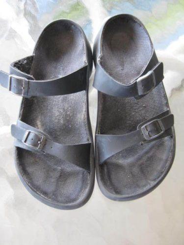Birkenstock Tatami black sandals slides EU 37 6 5 or 7